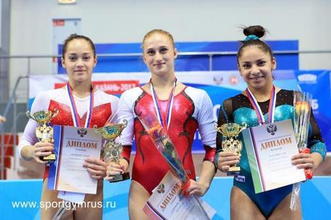 Студентки университета имени П.Ф.Лесгафта отличились на чемпионате России по спортивной гимнастике